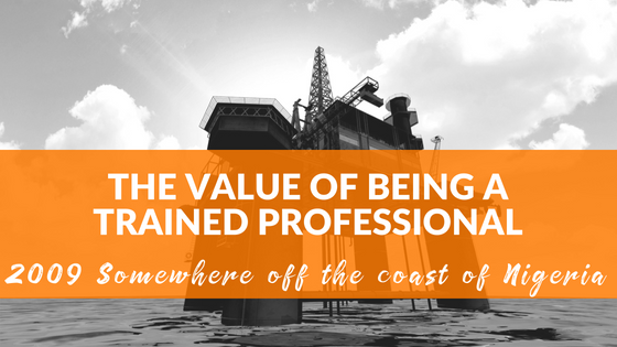 Off the Nigerian Coast ~ Value of Professional Coaching