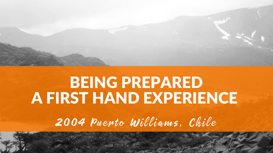 Being Prepared, a First-hand Experience in Personal Leadership